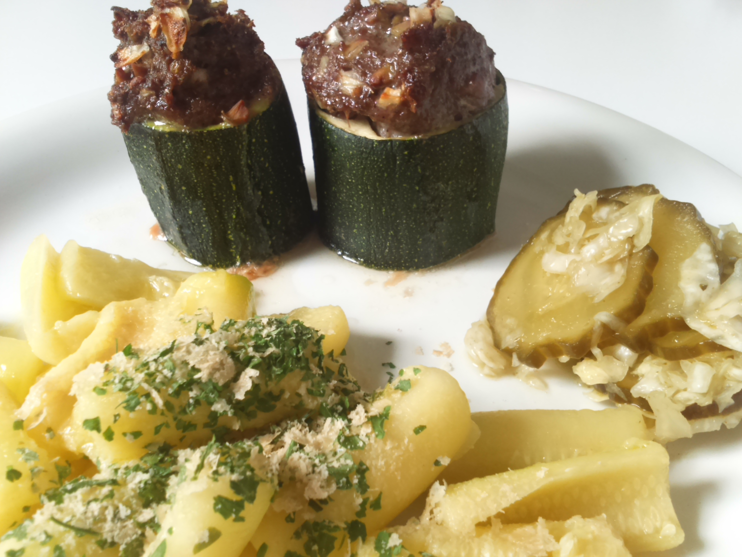 opgevulde courgette